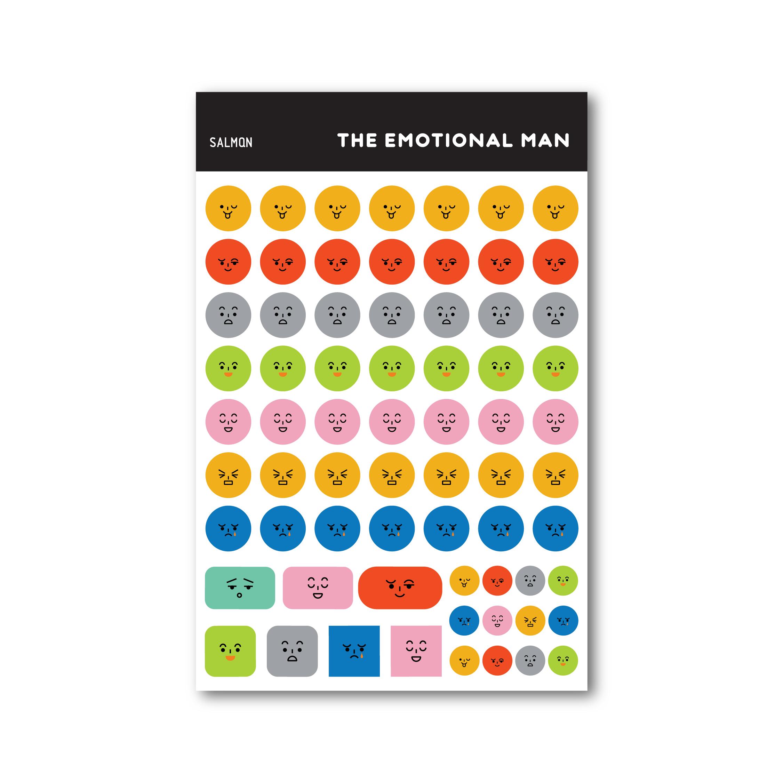 'emotional' sticker