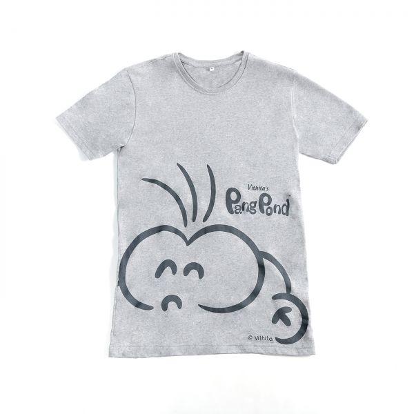 PangPond T-shirt: Gray [L]
