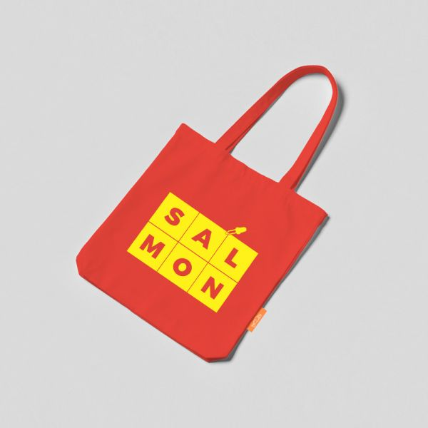 COLOR TOTE BAG - RED & YELLOW