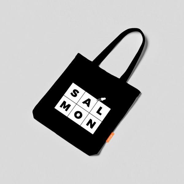 COLOR TOTE BAG - BLACK & WHITE